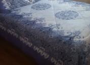 Cobertores de polar con chiporro 2 plazas y 1 1/2 plaza