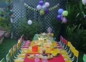 Arriendo sillas y mesas para cumpleaÑos infantiles 961908923