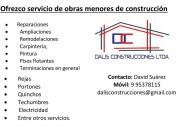 Ofrecemos servicios de construcciÓn