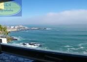 Venta departamento amoblado borde costa cochoa viÑa del mar // vd373