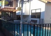 Vc462 maravillosa casa en condominio, jardÍn del mar, reÑaca