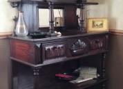 Vendo hermoso trinche antiguo de madera noble en perfecto estado