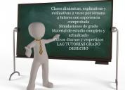 Clases Preparacion Examen Grado Ingenieria Finanzas a 2 cuadras de Metro UC en Santiago