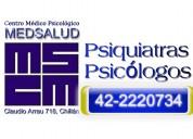Consulta medicos psiquiatras en chillan