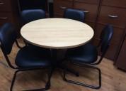 Mesa para reunion redonda