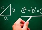 Clases particulares matemática y física (básica,media,universitario)