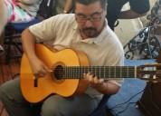 Musica en vivo guitarrista flamenco clasico rock, blues