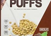 Quinoa puffs cereal de ieatprotein