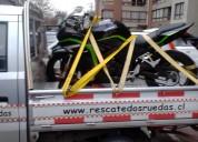 Rescate motos 24/7 todo santiago