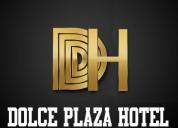 Personal necesario en dolce plaza hotel