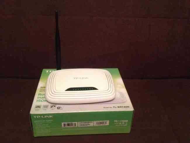 Se vende Router Inalámbrico TL-WR740N