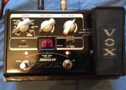 Vendo pedal multiefecto para guitarra stomplab 2g sl2g vox