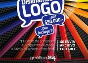 Grafica24 diseña tú logotipo por $50.000.-