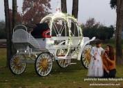 Arriendo carruaje de princesa