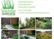 Jardinero peñalolen 973351869