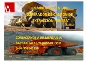 Curso de capacitación de camión de extracción minera