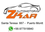 Rent a car zkar, puerto montt 03-08