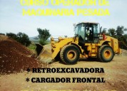 CapacÍtate y certificate como operador de maquinaria pesada