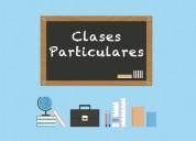Clases particulares lenguaje, matemáticas, ciencias