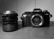 Camara reflex minolta x300s