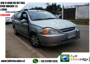 Kia rio ii look rs mt full station wagon 1.5 2004