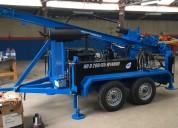Perforadora hidráulica dth / rotacion