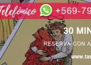tarot telefÓnico $12.000 30 minutos a todo chile