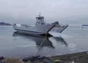 vendo barcaza nueva