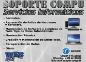 Servicio técnico de computadores: pc, notebooks y netbooks