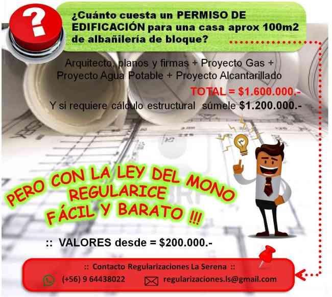REGULARIZACIONES :: LEY EL MONO