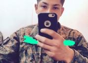 Joven militar de 21