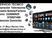 Reparación televisores aoc lg samsung masterg sony nex jvc panasonic sharp
