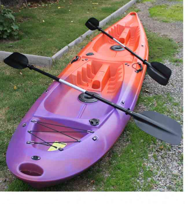 Kayak singles, dobles y triples desde $200.000.-