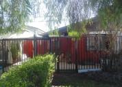 Vende casa en comuna de maipú. metro santiago bueras
