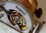 Se vende sierra circular dewalt