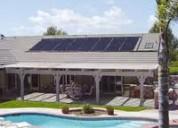 Temperado de piscinas con energia solar ,placas alemanas