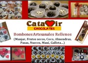 Chocolates artesanales rellenos