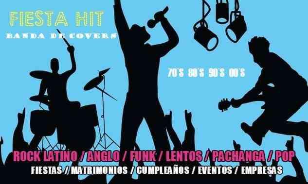 Fiesta Hit Banda para tu evento o fiesta