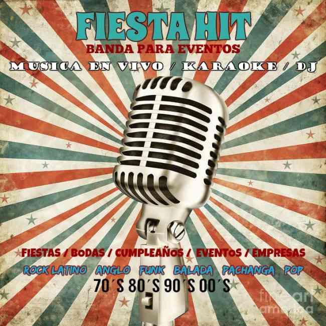 Fiesta Hit banda de música en vivo para eventos