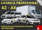 Licencia a2-a4 a3-a5