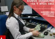 Cajero bancario intensivo