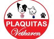 Plaquitas vetkaren de identificación para mascotas