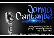 Cantante solista jonny voice