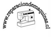 Servicio técnico de máquinas de coser a domicilio.
