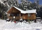 Tu casa y cabañas en pucon, centro de ski, ganancia, solaz