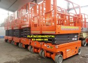 Brazo articulado plataforma tijera genie jlg 228801760 plataformarental