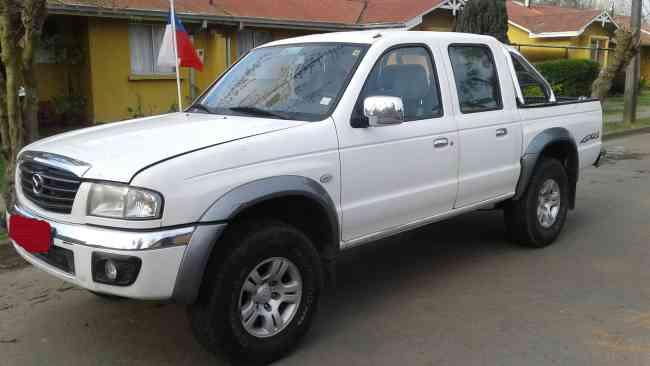 Camioneta Mazda B2500, 4x4, Diesel, 2007, Chillan