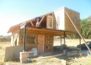 casa prefabricada 72mts mas instalacion y piso pilotes
