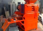 Maquinas briquetadoras para carbón y minerales.