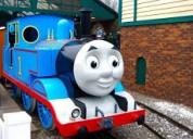 Compro trenes de thomas y sus amigos. de metal o madera.